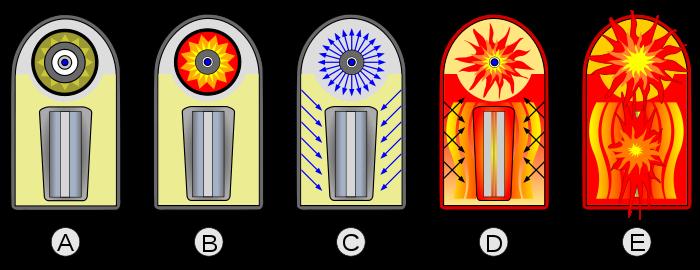 Real plutonium rod